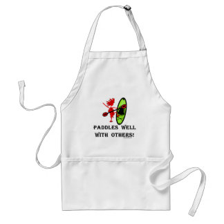 Canoe Slalom - Paddles Well With Others Adult Apron
