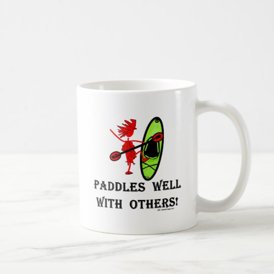 Canoe Slalom - Paddles Well With Others Coffee Mug