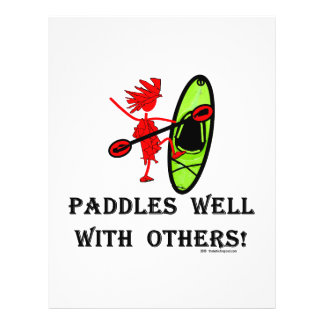 Canoe Slalom - Paddles Well With Others Flyer