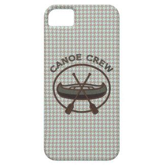 Canoe Sports Logo on Herringbone iPhone 5 Covers