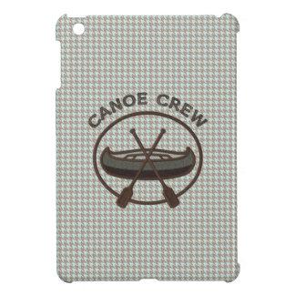 Canoe Sports Logo on Herringbone Case For The iPad Mini