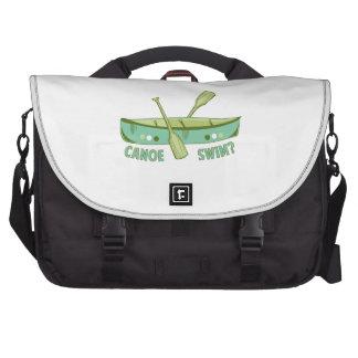 Canoe Swim Laptop Bag