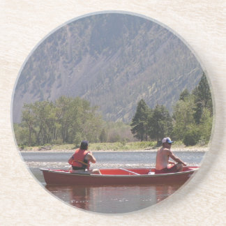 Canoe the Similkameen River, southern BC Drink Coaster