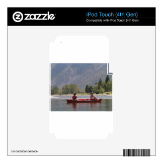 Canoe the Similkameen River, southern BC iPod Touch 4G Skins