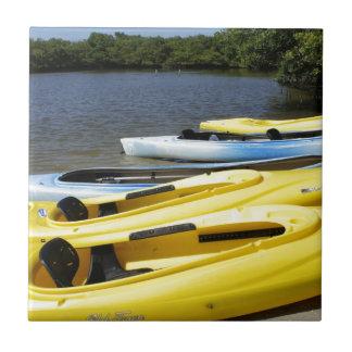 Canoe Trip Ceramic Tile