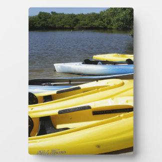 Canoe Trip Plaque