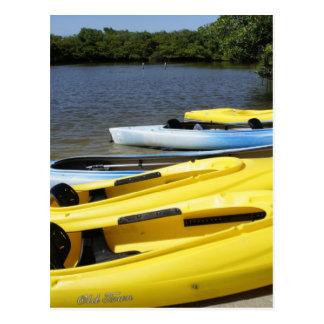 Canoe Trip Postcard
