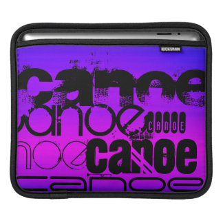 Canoe; Vibrant Violet Blue and Magenta Sleeve For iPads