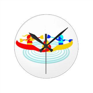 canoedling canoers round clock