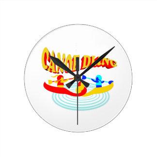 canoedling canoes round clock