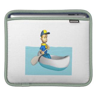 Canoeing 2 iPad sleeves