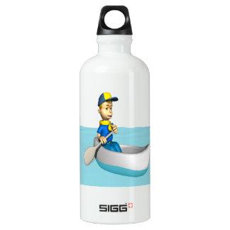 Canoeing 2 water bottle