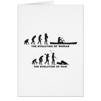 Canoeing Card