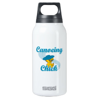 Canoeing  Chick #3 Insulated Water Bottle
