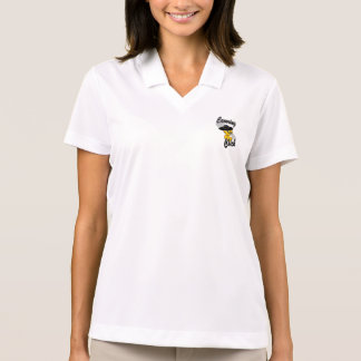 Canoeing Chick #4 Polo Shirt