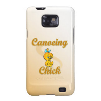 Canoeing Chick Samsung Galaxy S2 Covers