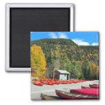 Canoeing Kayaking Jacques Cartier Park Magnet