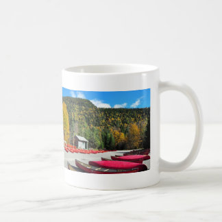Canoeing Kayaking Jacques Cartier Park Mug