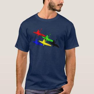Canoeing Kyaking Canoe kyak water sports T-Shirt