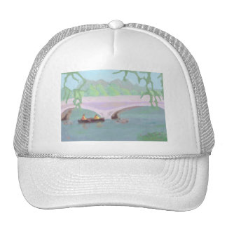Canoeing Peaceful Solitude, Hat