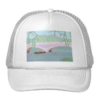 Canoeing Peaceful Solitude, Hat