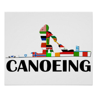 Canoeing Poster
