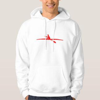 Canoeing - Red Hoodie
