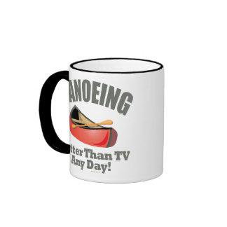 Canoeing Ringer Mug