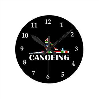 Canoeing Round Clock
