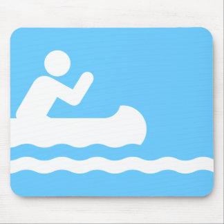 Canoeing Symbol Mousepad