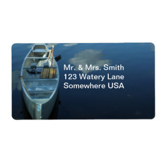 Canoeing the Boundary Waters v.1 Label