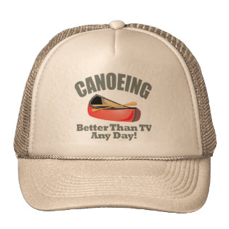 Canoeing Trucker Hat