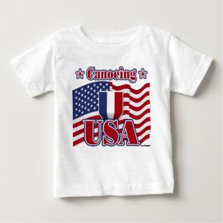 Canoeing USA Baby T-Shirt