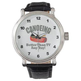 Canoeing Wristwatch