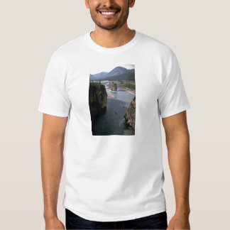 Canoeists, Mountain River, Northwest Territories, Shirts