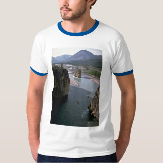 Canoeists, Mountain River, Northwest Territories, T-shirt