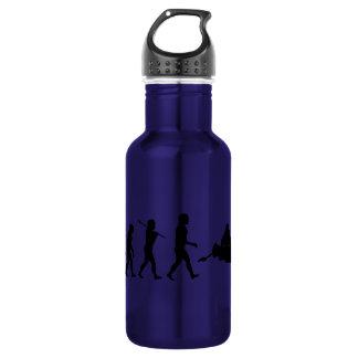 Canoers Canoeing Sport Water Bottle