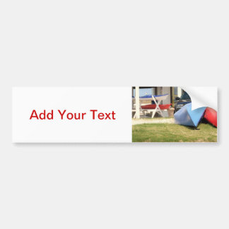 Canoes And Kayaks by Shirley Taylor Bumper Sticker