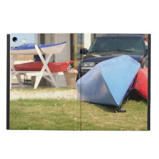 Canoes And Kayaks by Shirley Taylor Cover For iPad Air