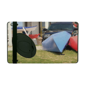 Canoes And Kayaks by Shirley Taylor iPad Folio Case
