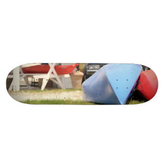Canoes And Kayaks by Shirley Taylor Skateboard