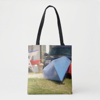 Canoes and Kayaks by Shirley Taylor Tote Bag