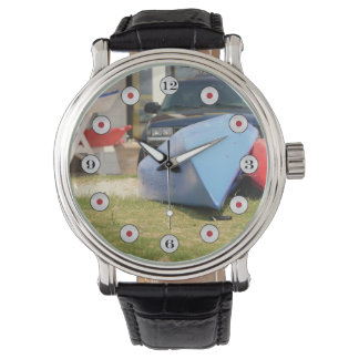 Canoes And Kayaks by Shirley Taylor Wrist Watch
