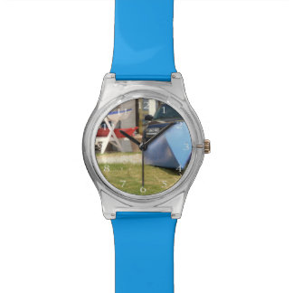 Canoes And Kayaks by Shirley Taylor Wristwatch