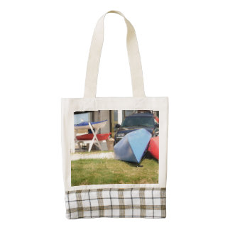 Canoes and Kayaks by Shirley Taylor Zazzle HEART Tote Bag