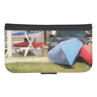 Canoes and Kayaks Phone Wallet
