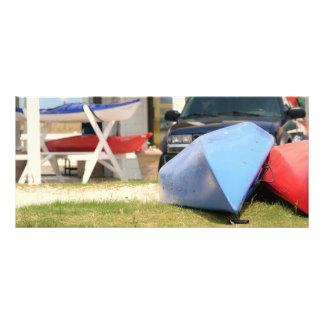 Canoes and Kayaks Rack Card
