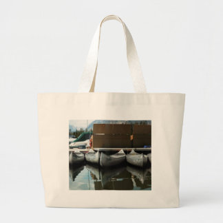 Canoes Tote Bags