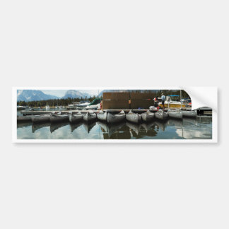 Canoes Bumper Sticker