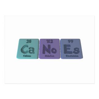 Canoes-Ca-No-Es-Calcium-Nobelium-Einsteinium.png Postcard